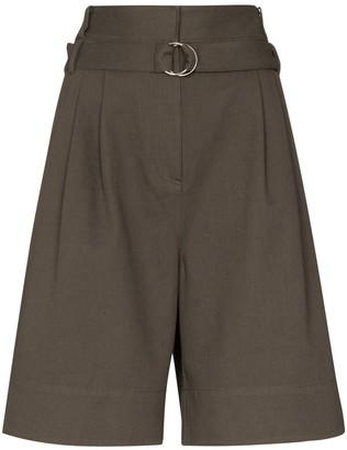 Tibi Jenson high-waist shorts