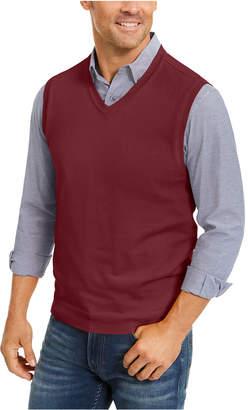 Club Room Men Regular-Fit V-Neck Sweater Vest