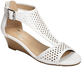 Aerosoles Wedge Gladiator Sandals - Sapphire