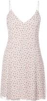 Amiri flower print slip dress