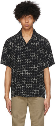 Visvim Black Free Edge Shirt