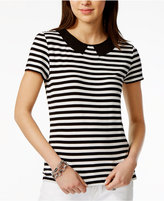 Tommy Hilfiger Peter-Pan-Collar Top, Only at Macy's