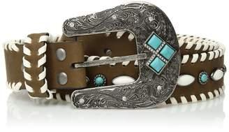 Nocona Belt Company Belt Co. Women's Whip Edge Color Stud Center