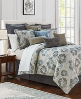 Waterford Blossom Reversible Queen Comforter Set