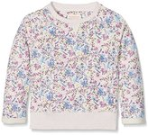 Fat Face Girl's Floral Print Crew Sweatshirt
