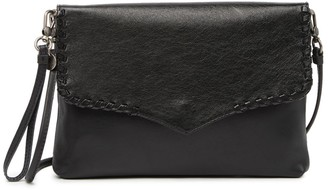 The Sak Legend Leather Flap Crossbody Bag