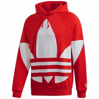 adidas Men's Big Trefoil Hoodie Sweatshirt