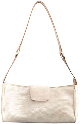 Zenith White Leather Handbags
