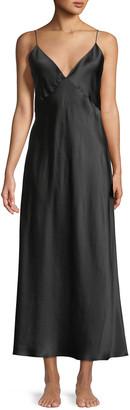 Olivia von Halle Issa Long Silk Nightgown