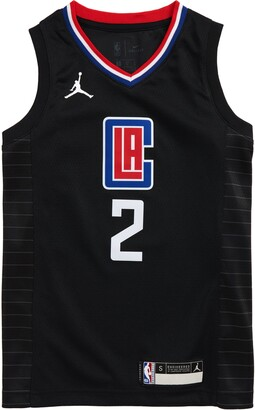 Jordan Dri-FIT Kids' NBA Los Angeles Clippers Kawhi Leonard Icon Edition Jumpman Jersey
