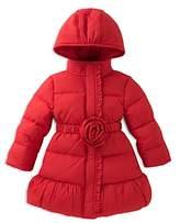 Kate Spade Girls' Rosette Puffer Coat Sizes - Little Kid