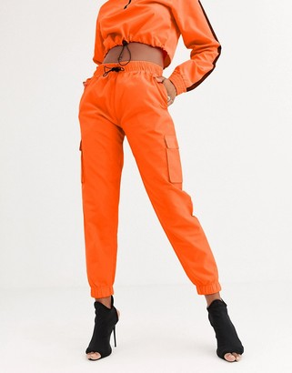 Public Desire relaxed cargo trousers co-ord