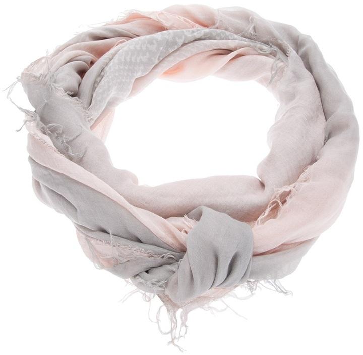 Giorgio Armani houndstooth scarf