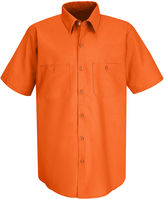 JCPenney Red Kap SP24 Industrial Solid Work Shirt
