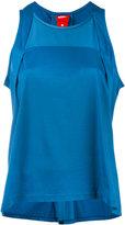 Nike bonded tank top - women - Cotton/Nylon/Spandex/Elastane - XS