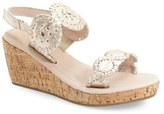 Jack Rogers Toddler Girl's 'Miss Luccia' Wedge Sandal