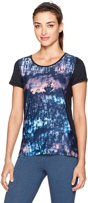 Nanette Lepore Play Women's Fresco Printed Active Tee XS