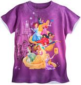 Disney Princess Sublimated Tee for Girls - Walt World