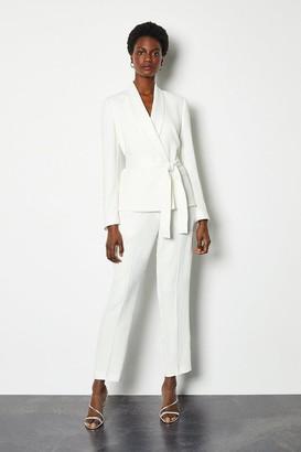 Karen Millen Soft Tuxedo Peg Trouser