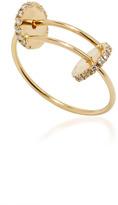 Delfina Delettrez Sliding Drops Ring with Diamonds