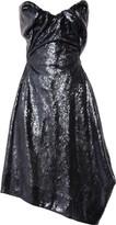 Vivienne Westwood Paper Bag sequined satin dress