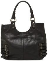Frye Selena Belted Leather Shoulder Bag