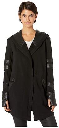 Blanc Noir Maitri Traveler Jacket (Black) Women's Coat