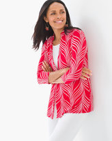 Chico's Graceful Lines Button Jacket