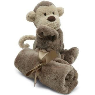 Jellycat Bashful Monkey Soother Blanket