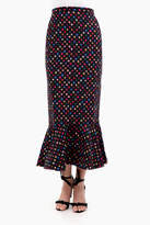 Saloni Double Crepe Skirt