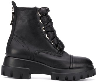 AGL Lace-Up Ankle Boots
