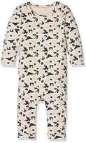 Name It Baby Girls NITJAO LS BODYSUIT MZNB GER Footies, Multicoloured (Peyote)