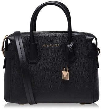 MICHAEL Michael Kors Mercer Leather Belted Satchel