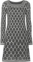 M Missoni Stretch-knit jacquard mini dress
