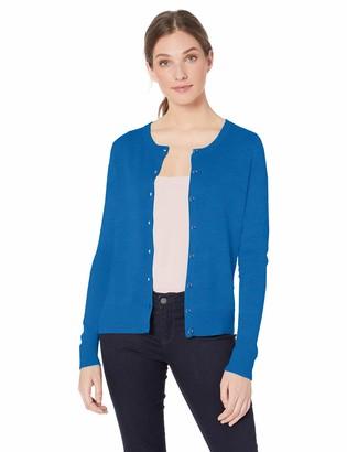 Amazon Essentials Lightweight Crewneck Cardigan Sweater Sweatshirt