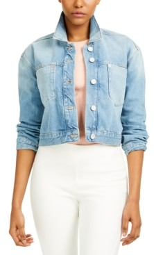French Connection Palmira Cropped Denim Jacket