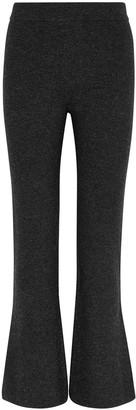 Nanushka Leba charcoal wool-blend trousers
