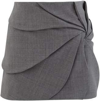 Coperni Vortex Embroidery Mini Skirt