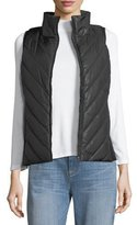 Eileen Fisher Parka Parts Zip-Front Vest, Petite