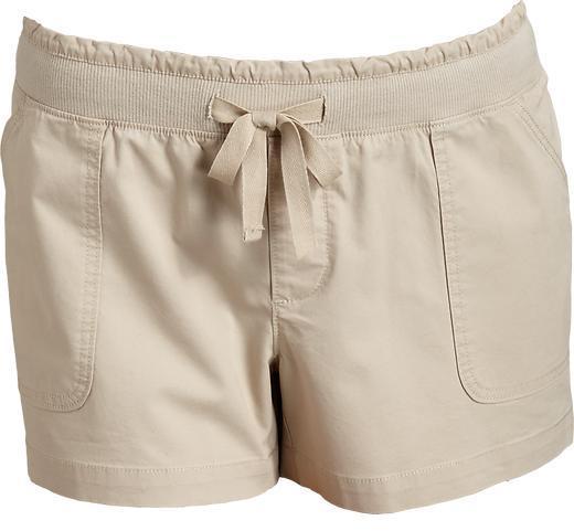 "Old Navy Women's Plus Rib-Waist Twill Shorts (3 1/2"")"