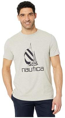 Nautica Tee Shirt (Grey) Men's Clothing