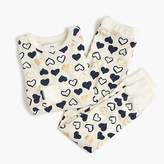J.Crew Kids' pajama set in hearts