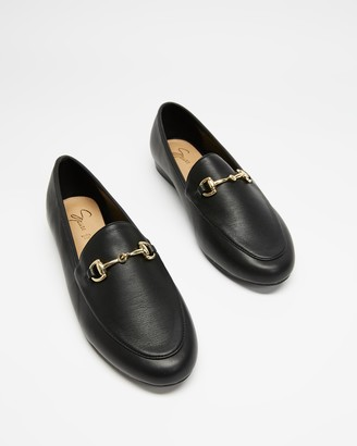 Spurr Women's Black Heels - Sabinah Loafers (Wide Fit) - Size 6 at The Iconic