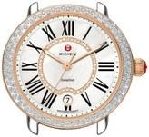 Michele 'Serein 16 Diamond' Rose Gold Plated Watch Case, 34mm x 36mm