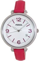 Fossil Women's Heather ES3277 Leather Swiss Quartz Watch