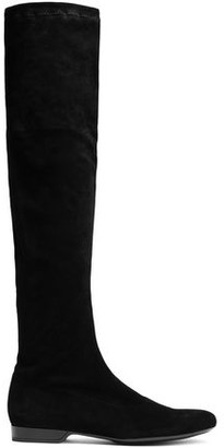 Clergerie Fissal Stretch-suede Over-the-knee Boots
