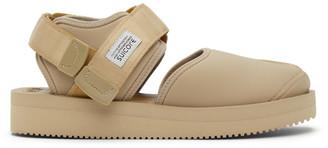Suicoke Beige Bita-V Sandals