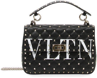 Valentino Garavani VLTN Spike.It Quilted Leather Shoulder Bag