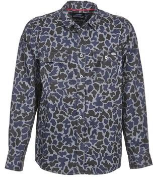 Dickies NEWKIRK men's Long sleeved Shirt in Grey