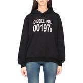 Diesel Hooded Sweatshirt With New Logo Print